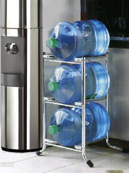 3 Tier Water Bottle Rack 5 Gallon Water Jug Rack Aquaverve