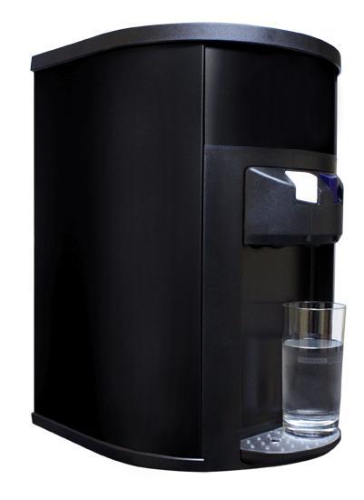Black Bottleless Countertop Water Cooler Small Water Cooler