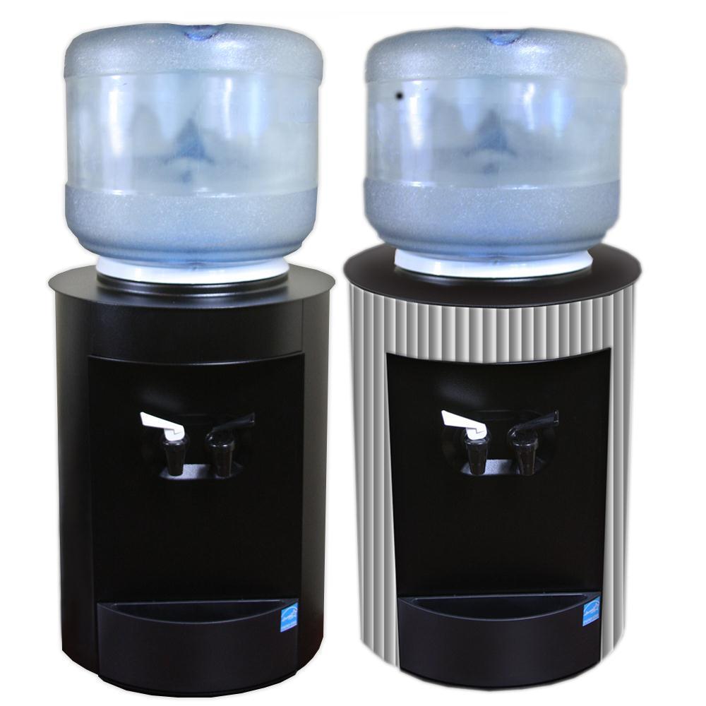 Celsius Countertop Water Cooler Black Water Dispenser